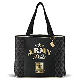 Military Pride Army Tote Bag