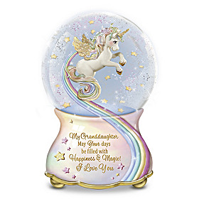 My Granddaughter, You Are Magical Glitter Globe