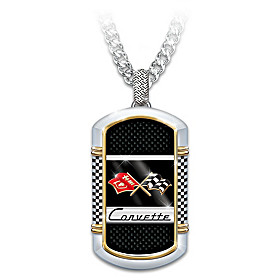 Corvette: The Legend Pendant Necklace