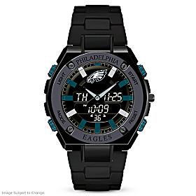 It's Philadelphia Eagles Time! Men's Watch