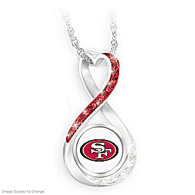 San Francisco 49ers Forever Pendant Necklace