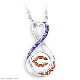 Chicago Bears Forever Pendant Necklace