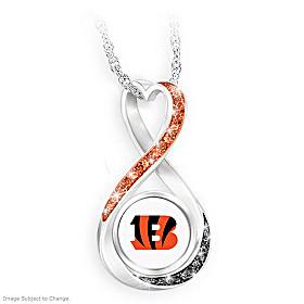 Cincinnati Bengals Forever Pendant Necklace