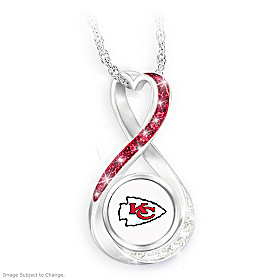 Kansas City Chiefs Forever Pendant Necklace