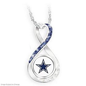 Dallas Cowboys Forever Pendant Necklace