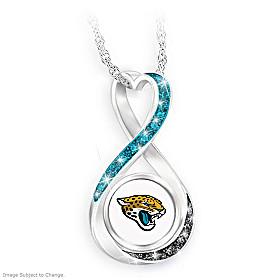 Jacksonville Jaguars Forever Pendant Necklace
