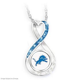 Detroit Lions Forever Pendant Necklace