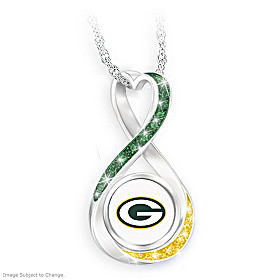 Green Bay Packers Forever Pendant Necklace