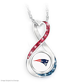 New England Patriots Forever Pendant Necklace