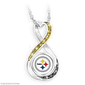 Pittsburgh Steelers Forever Pendant Necklace