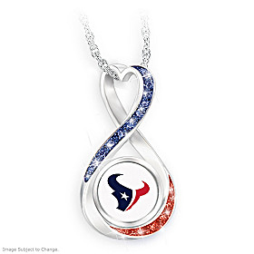 Houston Texans Forever Pendant Necklace