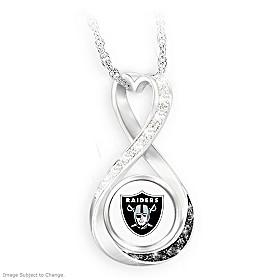 Las Vegas Raiders Forever Pendant Necklace