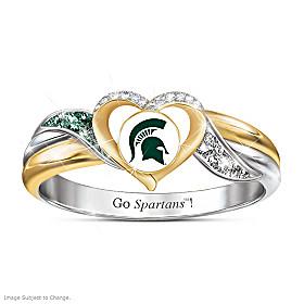 Michigan State Spartans Pride Ring
