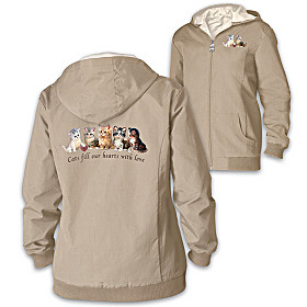 Kitten Love Women's Jacket