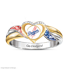 Los Angeles Dodgers Pride Ring