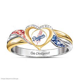 Los Angeles Dodgers Pride Ring
