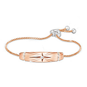 Trust In The Lord Copper Bracelet