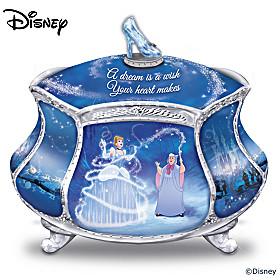 Disney Cinderella's Dream Music Box