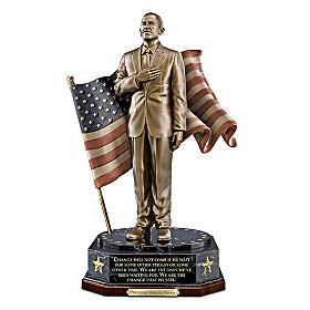 President Barack Obama Sculpture