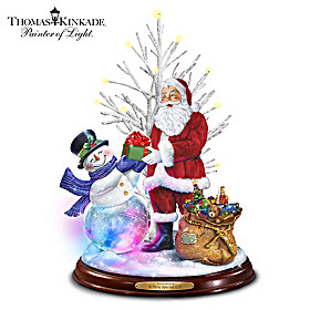 Thomas Kinkade A Very Special Gift Sculpture