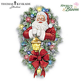 Thomas Kinkade A Most Enchanted Christmas Wreath