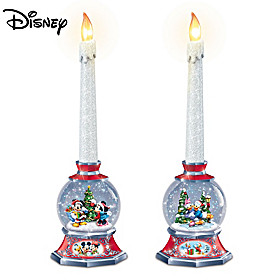 Disney Glowing Holiday Memories Candle Set