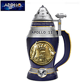 Apollo 11 50th Anniversary Masterpiece Stein