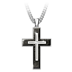 Forged In Faith Pendant Necklace