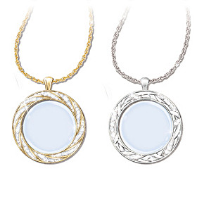 Visions Of Beauty Pendant Necklace Set