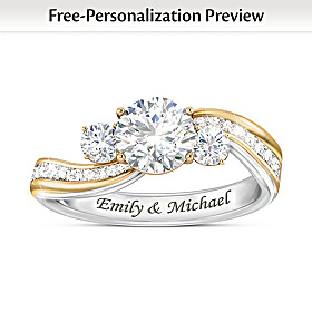 The Story Of Us Personalized Ring