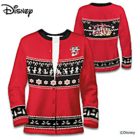 Disney Christmas Women's Cardigan