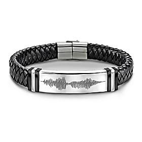 Son, Always Remember I Love You Men's Bracelet