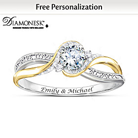 Love Letters Personalized Ring