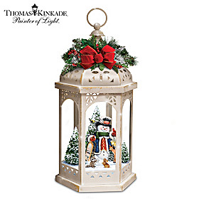 Thomas Kinkade Winter In A Wonderland Lantern