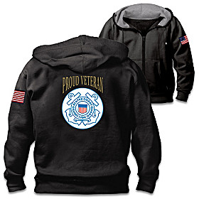 Veterans Pride Coast Guard Men's Hoodie