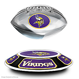 Minnesota Vikings Levitating Football Sculpture