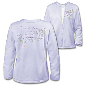 Grandma's Loving Heart Women's Cardigan
