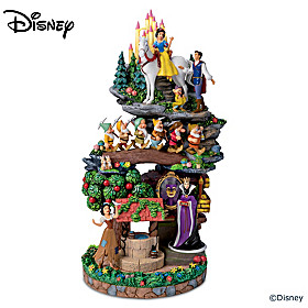 Disney Snow White And The Seven Dwarfs Sculpture