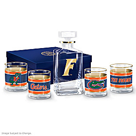 Florida Gators Legacy Glassware Set