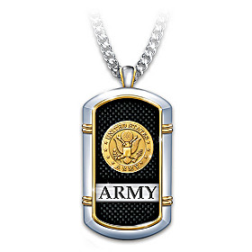 Strength Of The Army Pendant Necklace