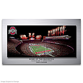 Ohio Stadium: Home Of The Buckeyes Wall Decor