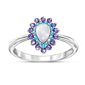 Opal Majesty Ring