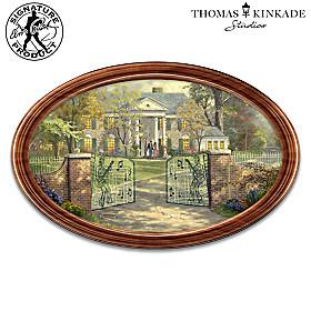 Thomas Kinkade Graceland Collector Plate
