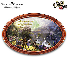 DOROTHY Discovers The EMERALD CITY Framed Collector Plate