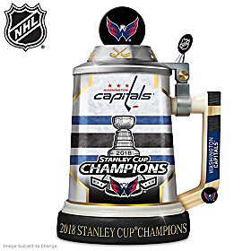 Capitals® 2018 Stanley Cup® Championship Stein