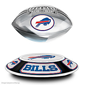 Buffalo Bills Levitating Football Sculpture