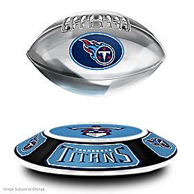Tennessee Titans Levitating Football Sculpture