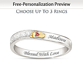 Love At First Sight Personalized Ring