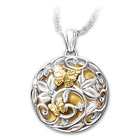 Sounds Of Harmony Pendant Necklace