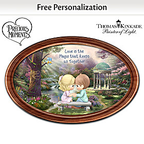 The Magic Of Love Personalized Collector Plate